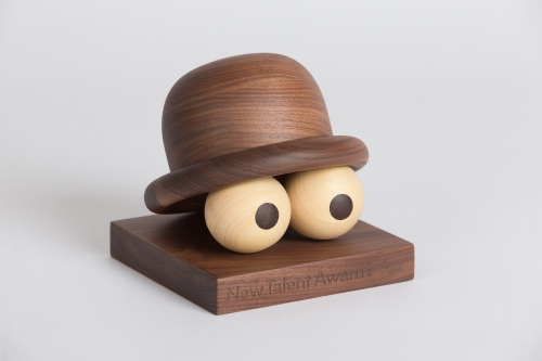 Toykyo New Talent Award toy sculpture in wood